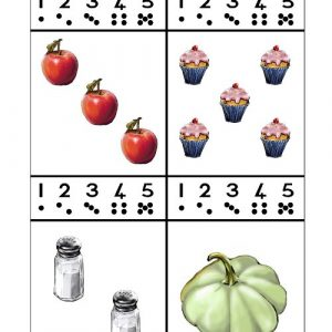 Trek 'n sirkel om die regte getal